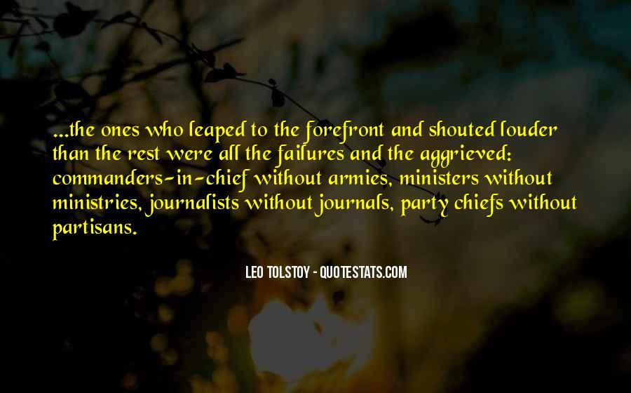 Quotes About Partisans #589864
