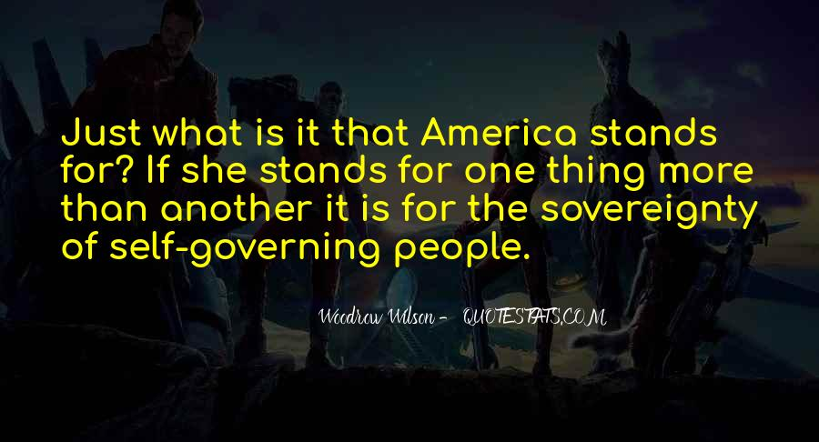 Quotes About Self Governing #1284809