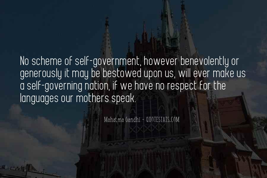 Quotes About Self Governing #1357930