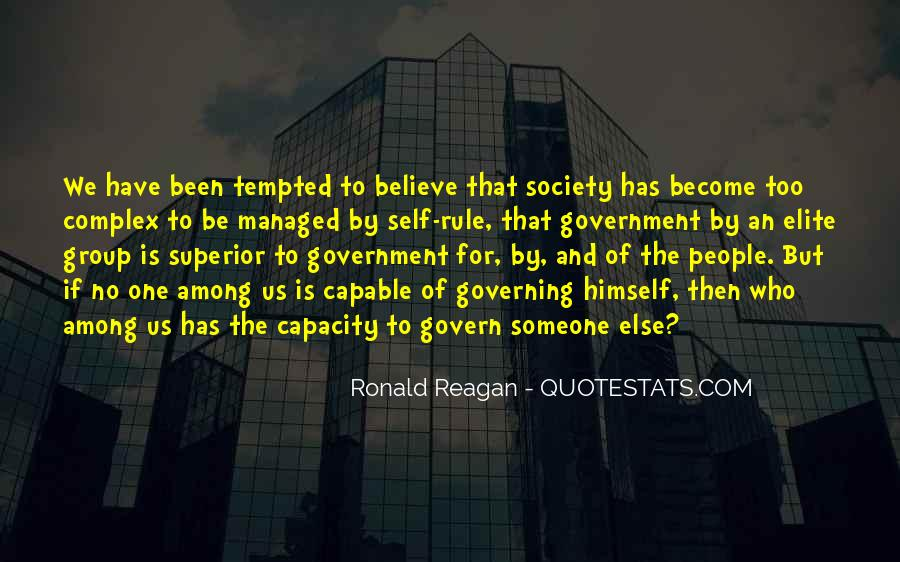 Quotes About Self Governing #1481095
