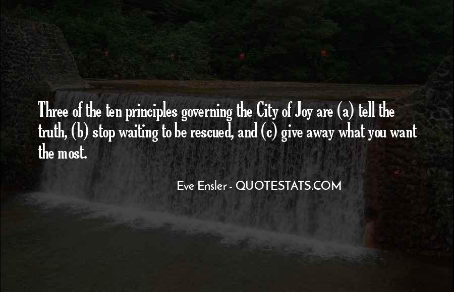 Quotes About Self Governing #347826