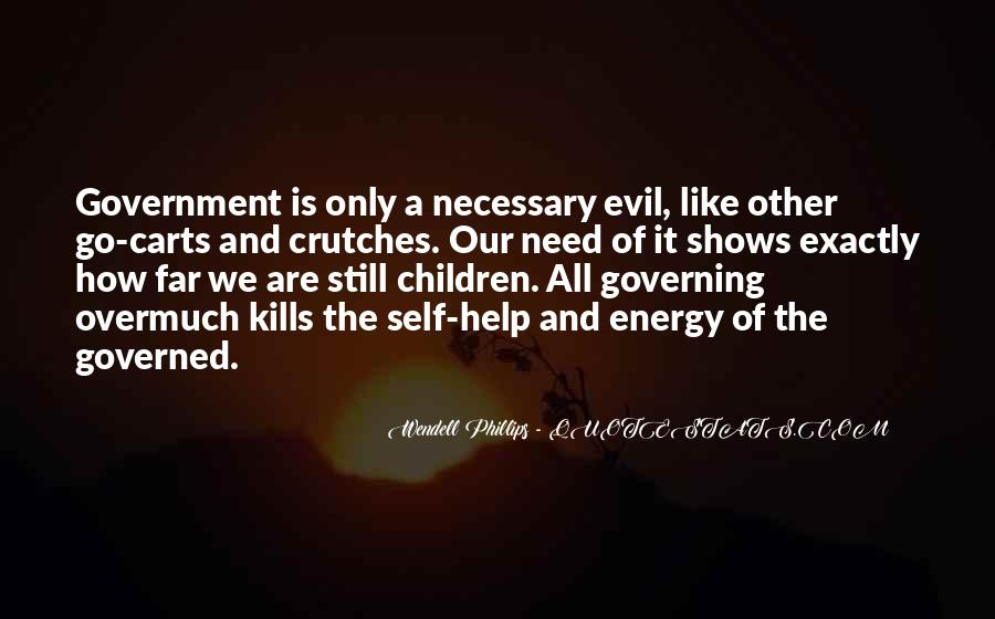 Quotes About Self Governing #779850