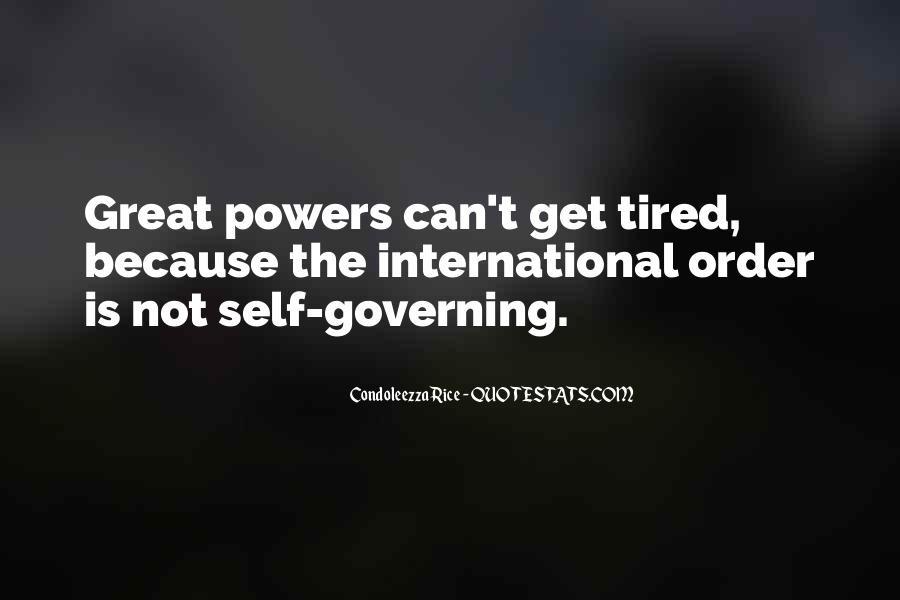 Quotes About Self Governing #798182