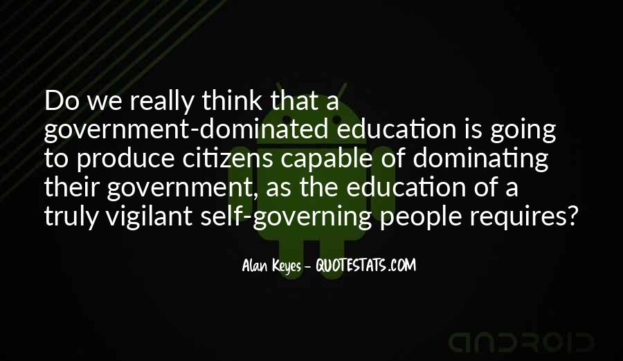 Quotes About Self Governing #833584