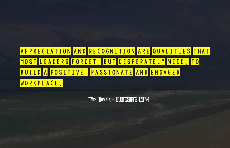 Quotes About Recognition In The Workplace #278150