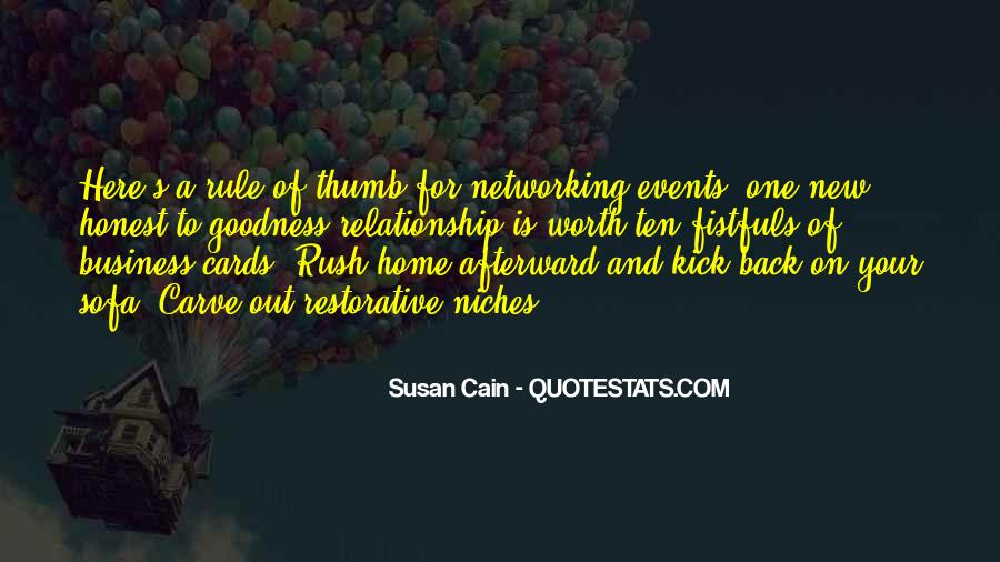 Quotes About Networking Events #384789