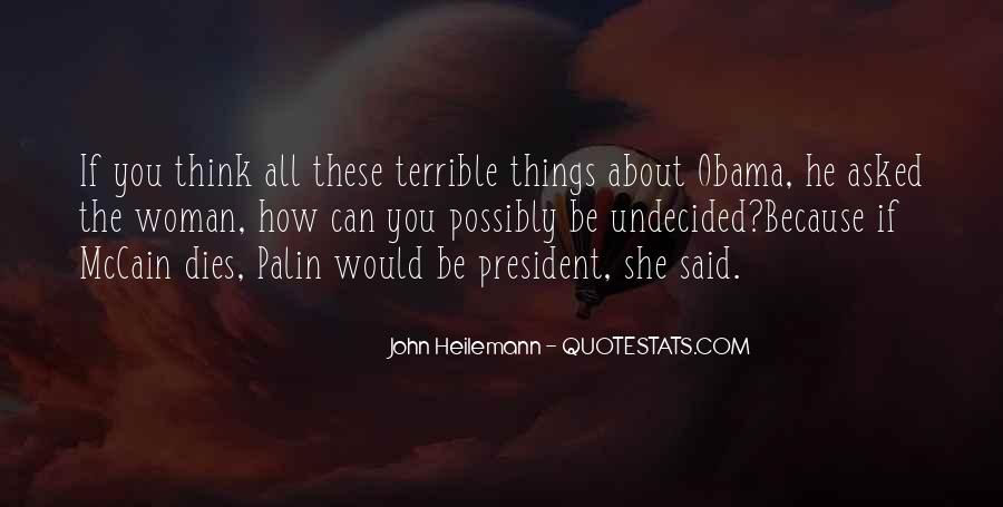 Quotes About Palin Obama #1025694