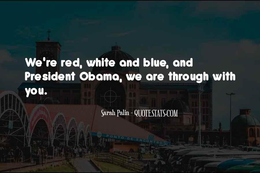 Quotes About Palin Obama #1512402
