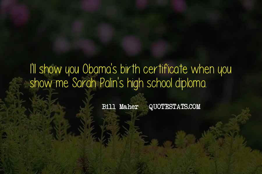 Quotes About Palin Obama #1516647