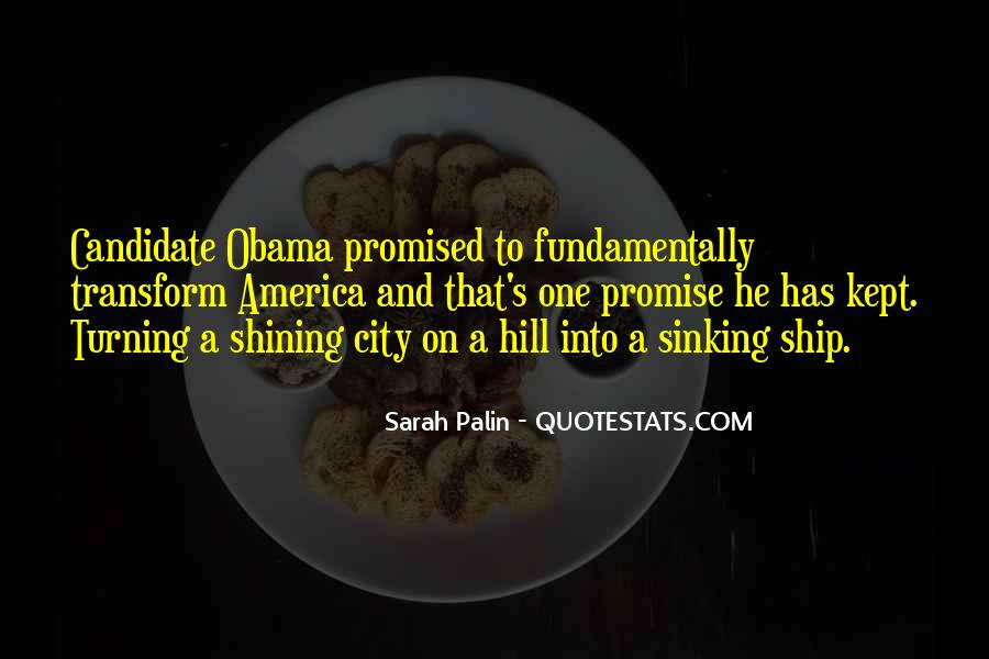 Quotes About Palin Obama #1603259