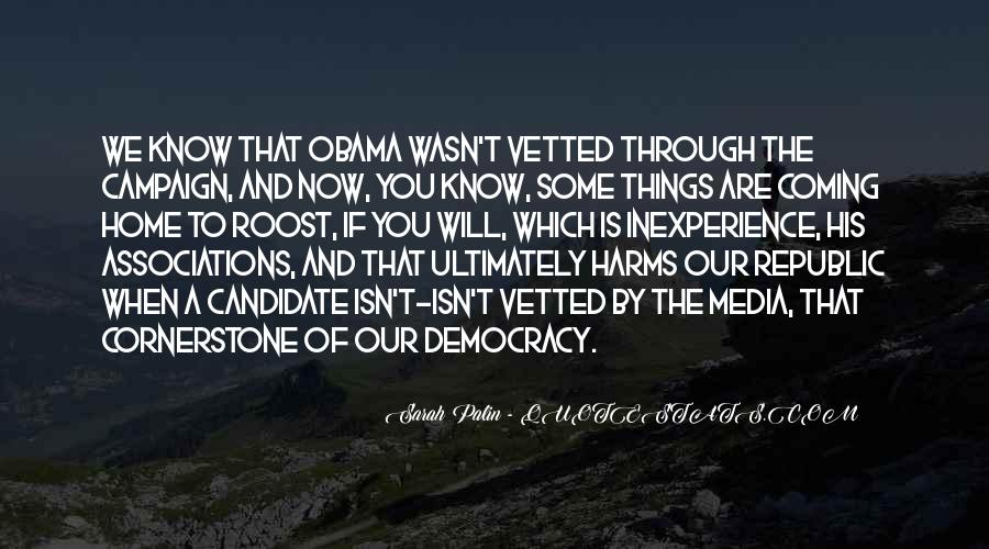 Quotes About Palin Obama #1621442