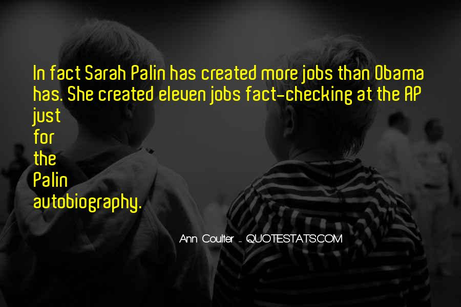 Quotes About Palin Obama #288465