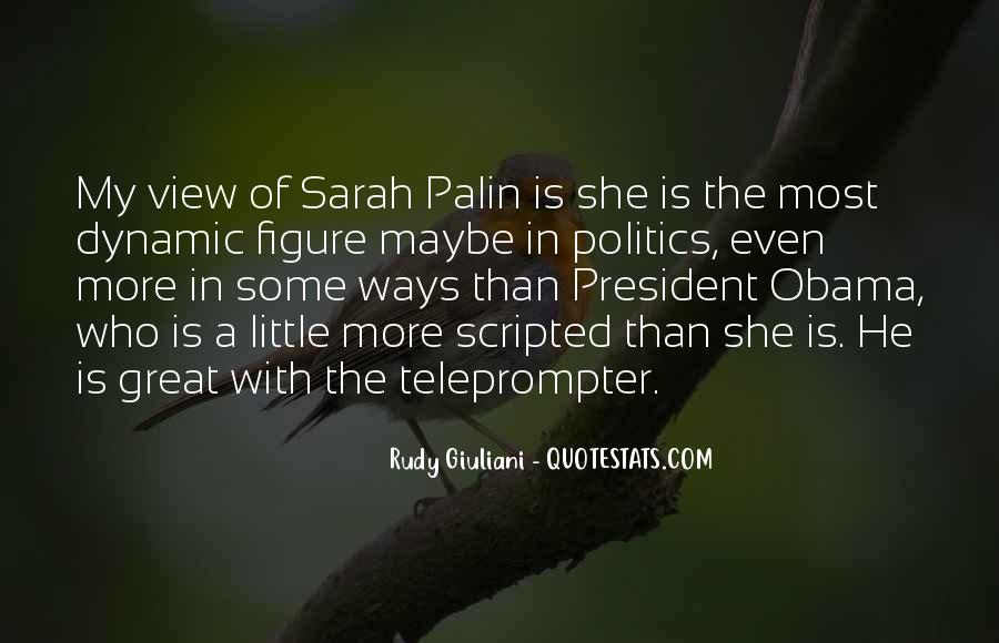 Quotes About Palin Obama #820064