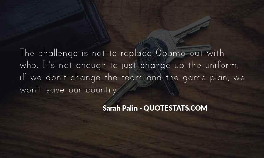 Quotes About Palin Obama #889322