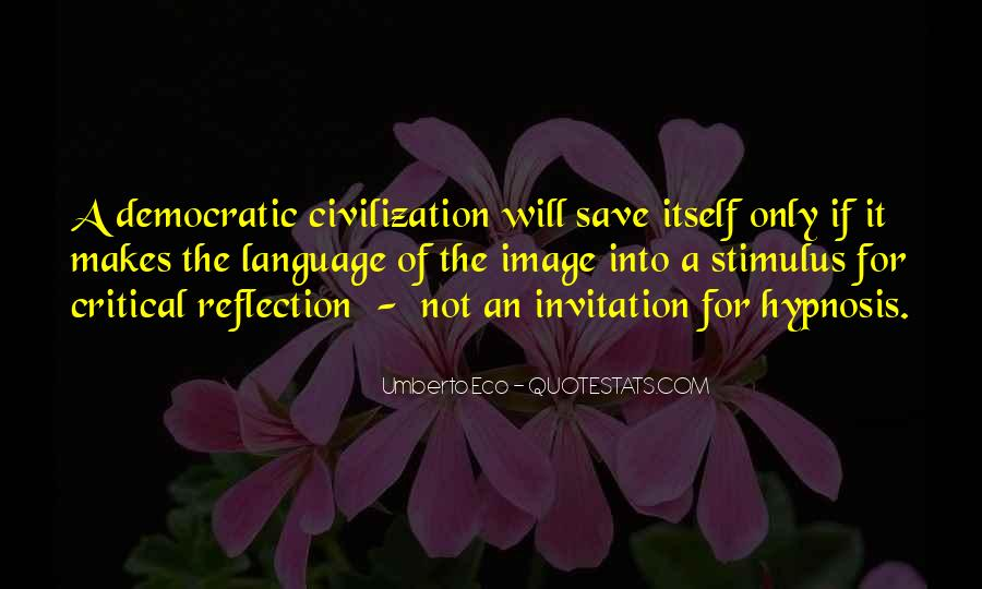 Quotes About Critical Reflection #1715817