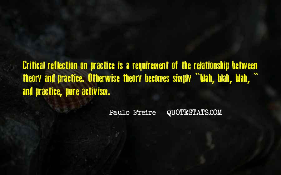 Quotes About Critical Reflection #656311