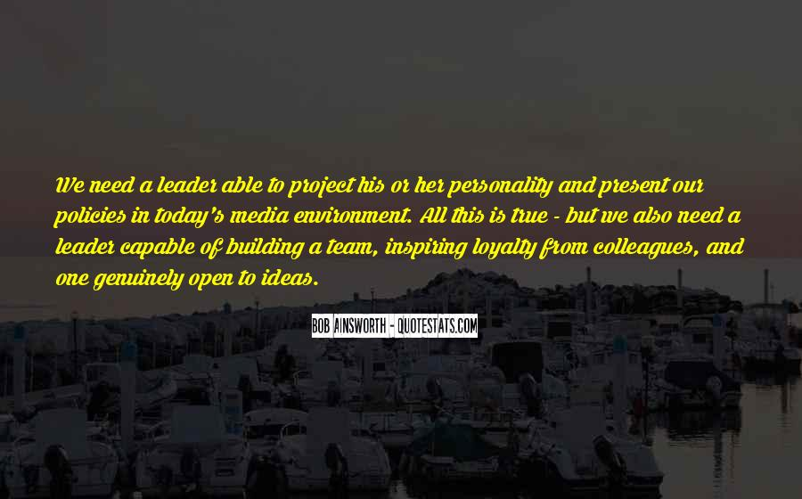 Quotes About Inspiring A Team #1520732