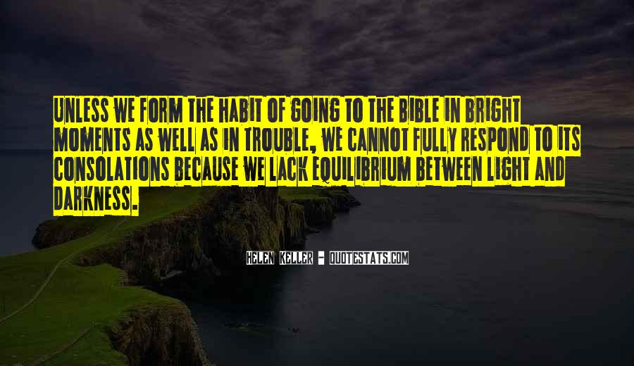 Quotes About Light In The Bible #1158944
