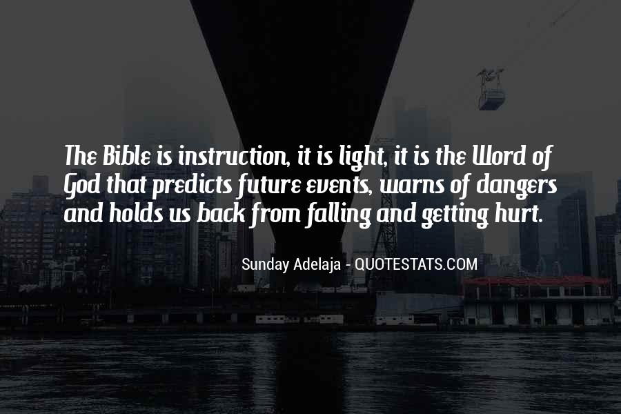 Quotes About Light In The Bible #1362381