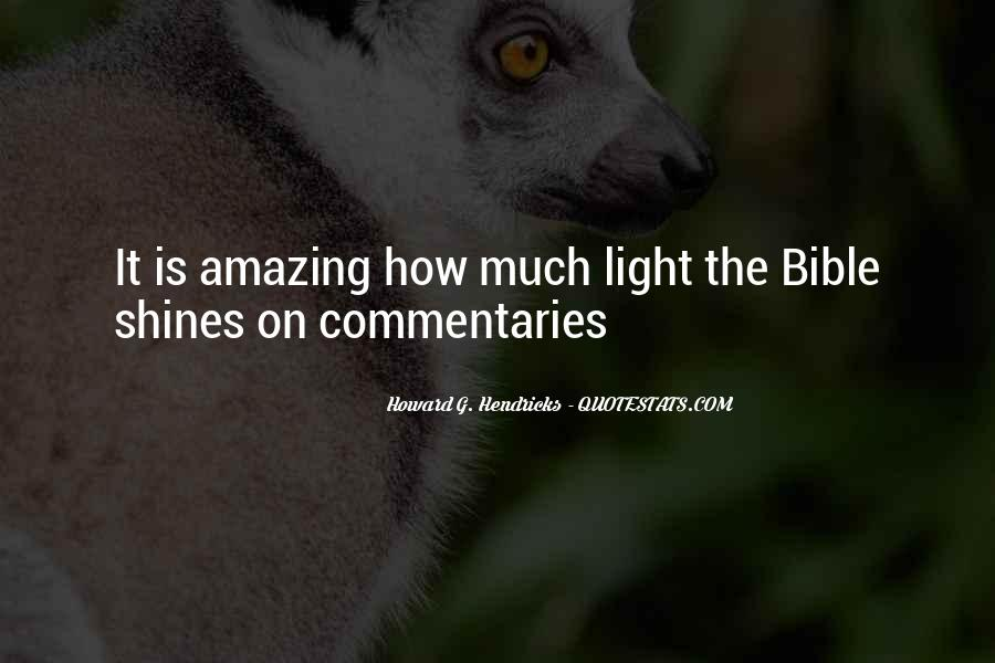 Quotes About Light In The Bible #268861