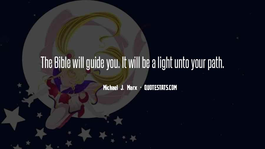 Quotes About Light In The Bible #693999