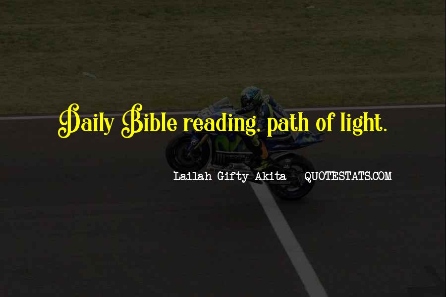 Quotes About Light In The Bible #722672