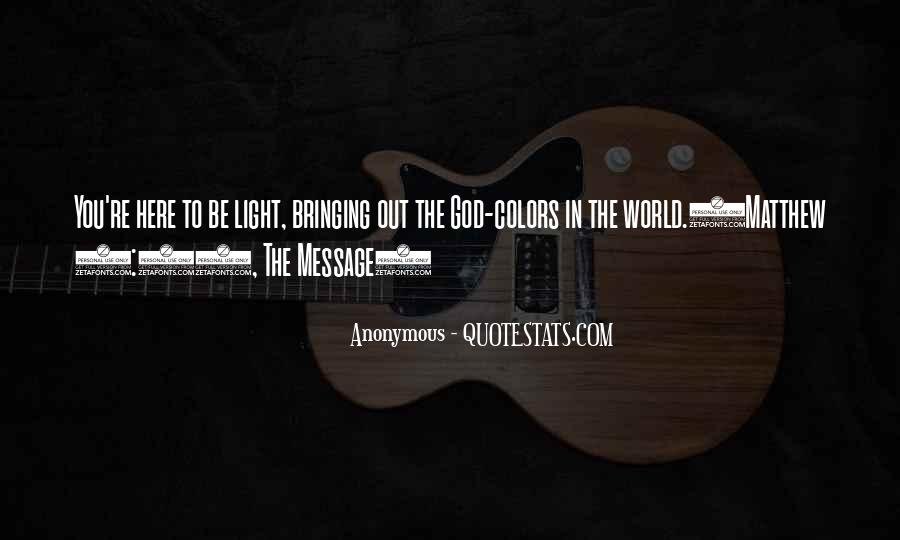 Quotes About Light In The Bible #751219