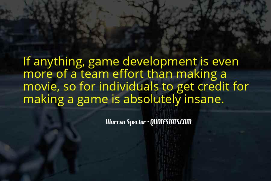 Quotes About Game Development #102977