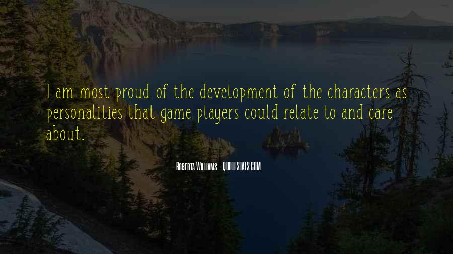 Quotes About Game Development #485567