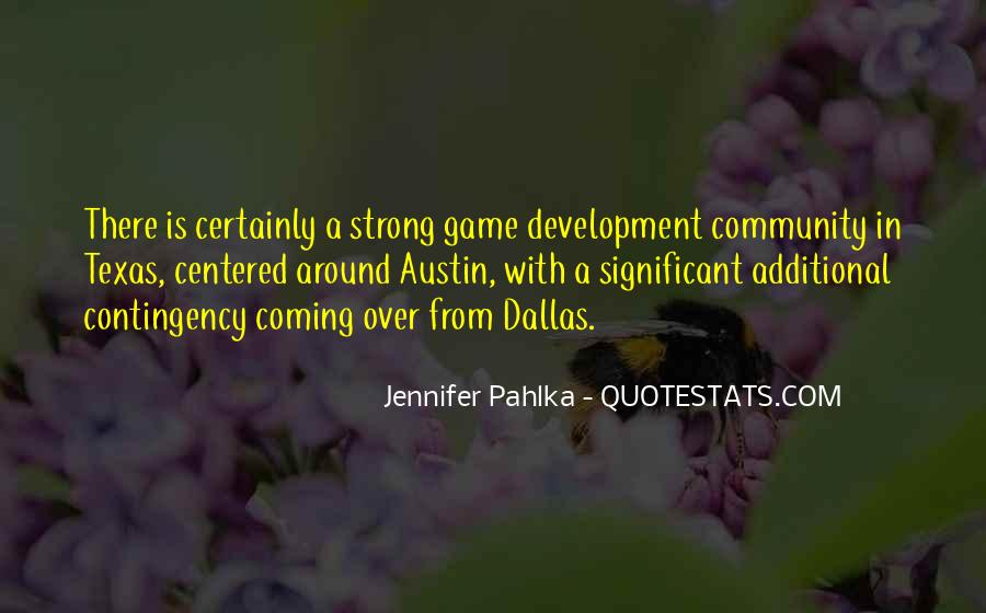 Quotes About Game Development #563835