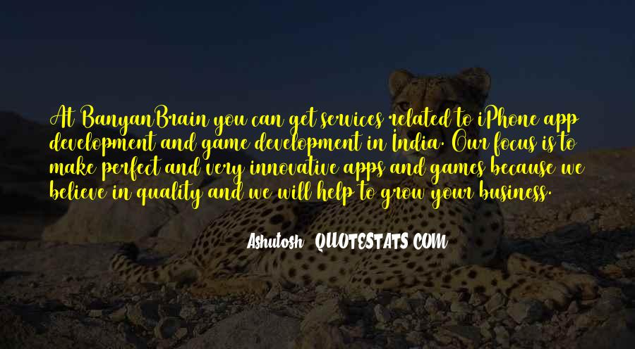 Quotes About Game Development #692749