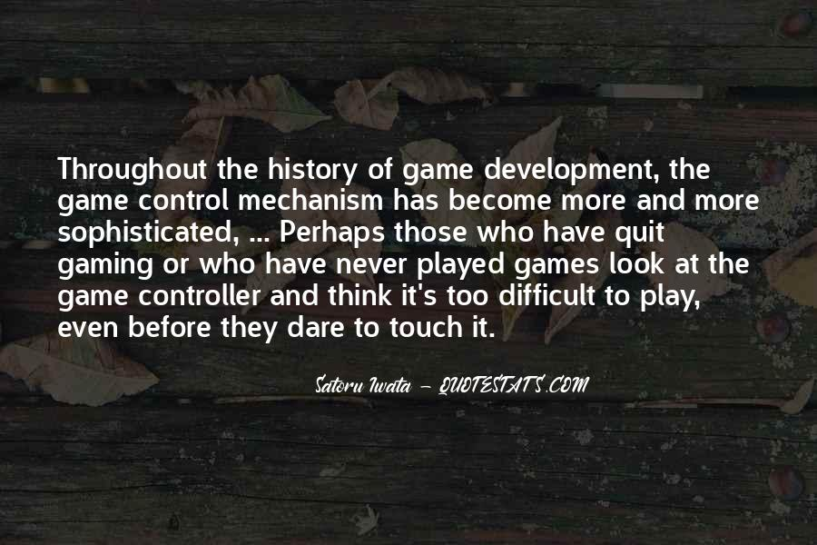Quotes About Game Development #863634