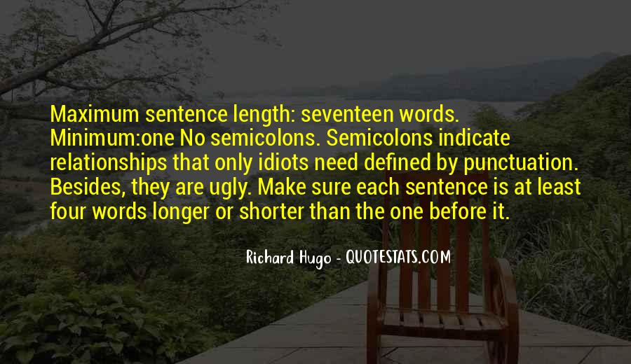 Quotes About Length Of Relationships #308777