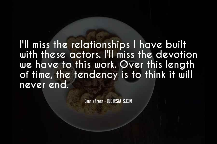 Quotes About Length Of Relationships #460676