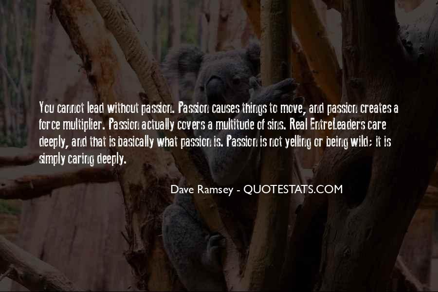 Quotes About Actually Caring #1031163