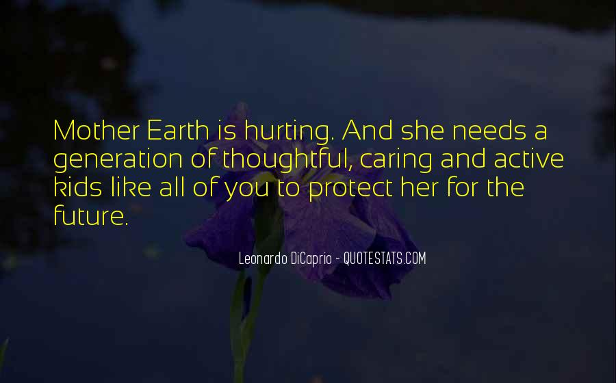 Quotes About Actually Caring #17144