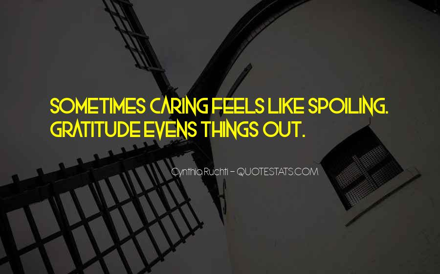 Quotes About Actually Caring #22624