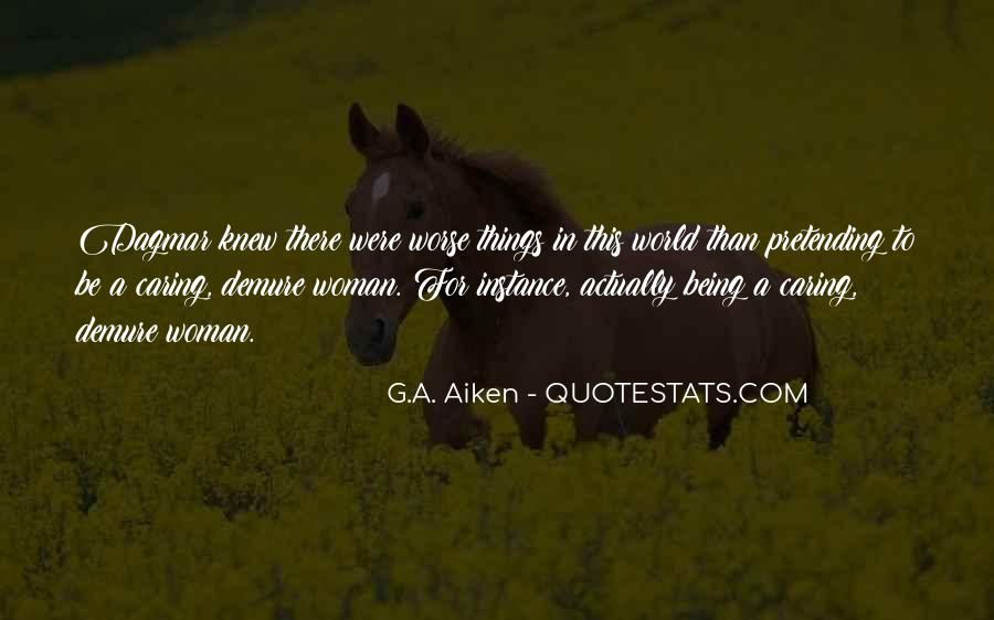 Quotes About Actually Caring #243053