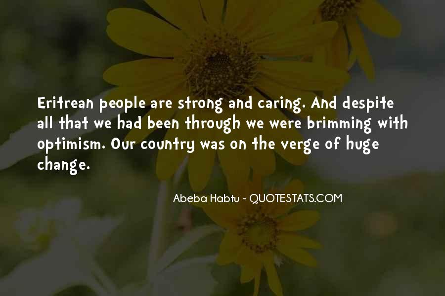 Quotes About Actually Caring #40673