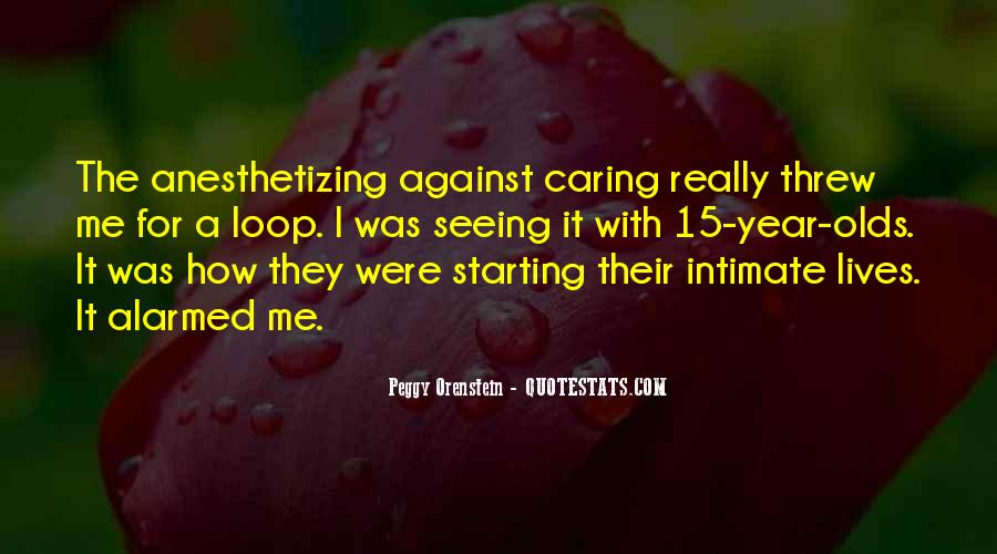 Quotes About Actually Caring #44262