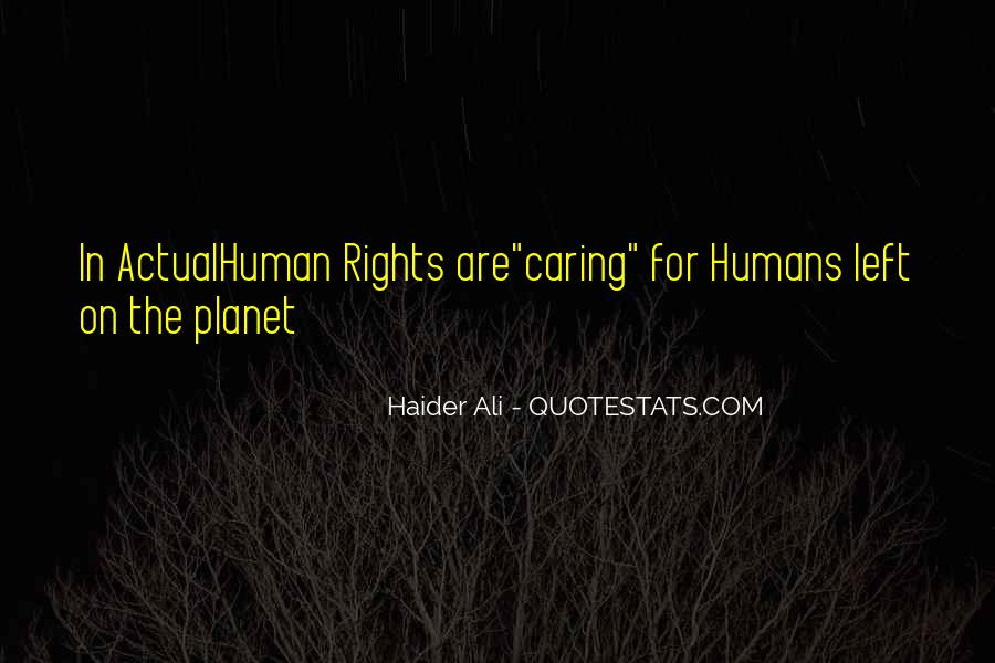 Quotes About Actually Caring #45154