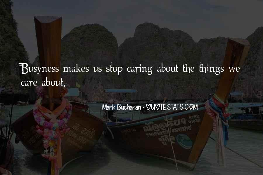 Quotes About Actually Caring #45427