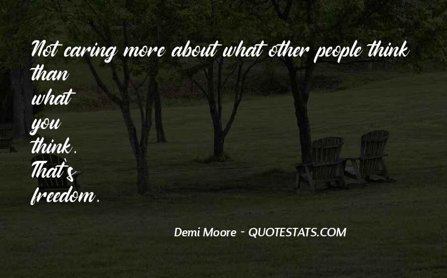 Quotes About Actually Caring #6909