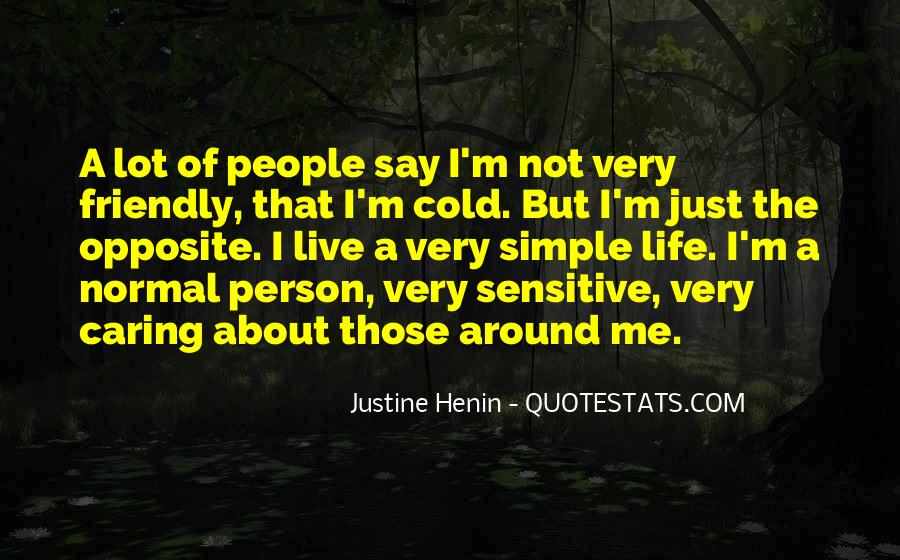 Quotes About Actually Caring #9742