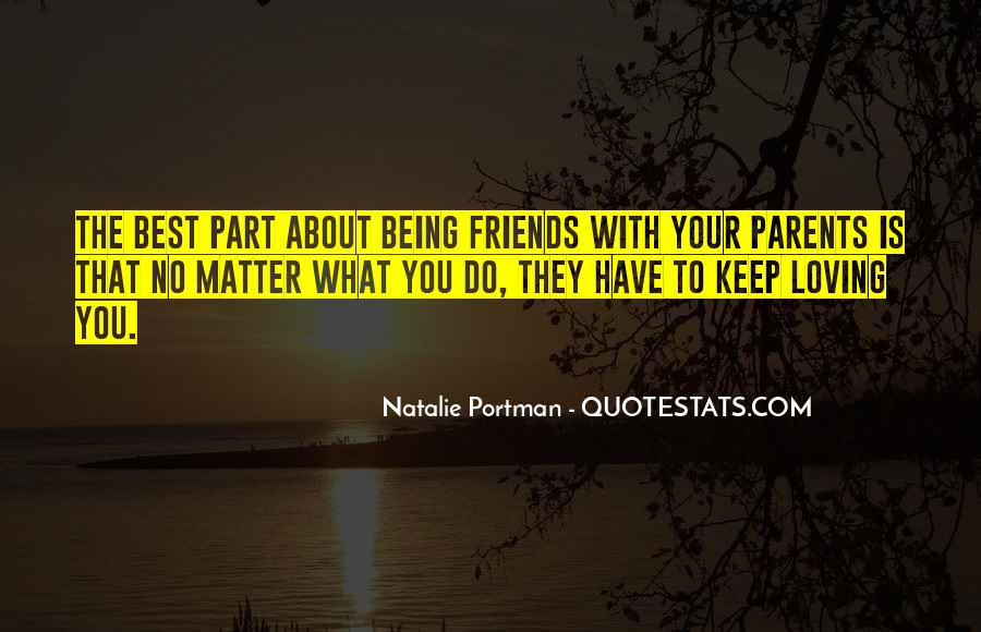 Quotes About Friends That Matter #1623362