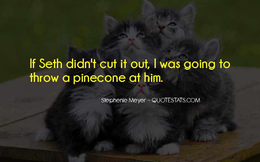 Quotes About Pinecone #1121813