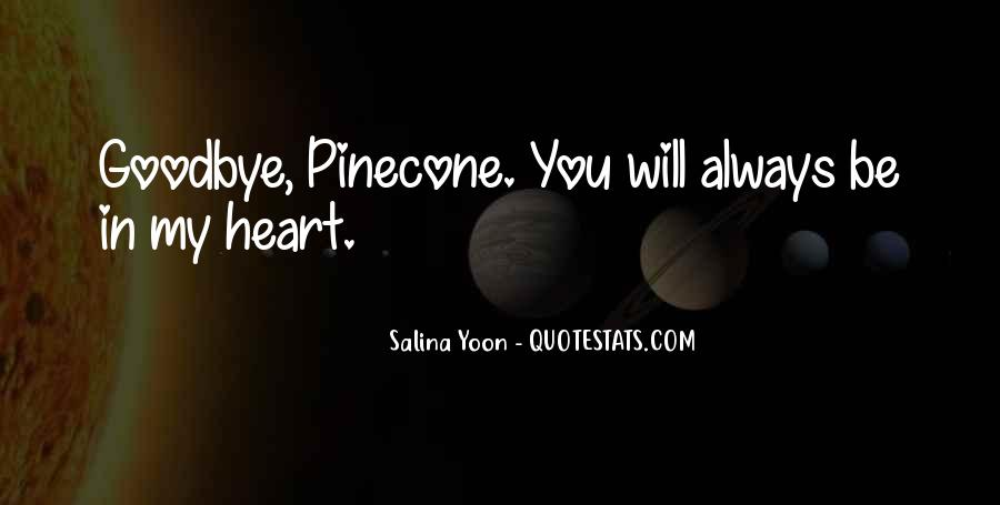 Quotes About Pinecone #601626
