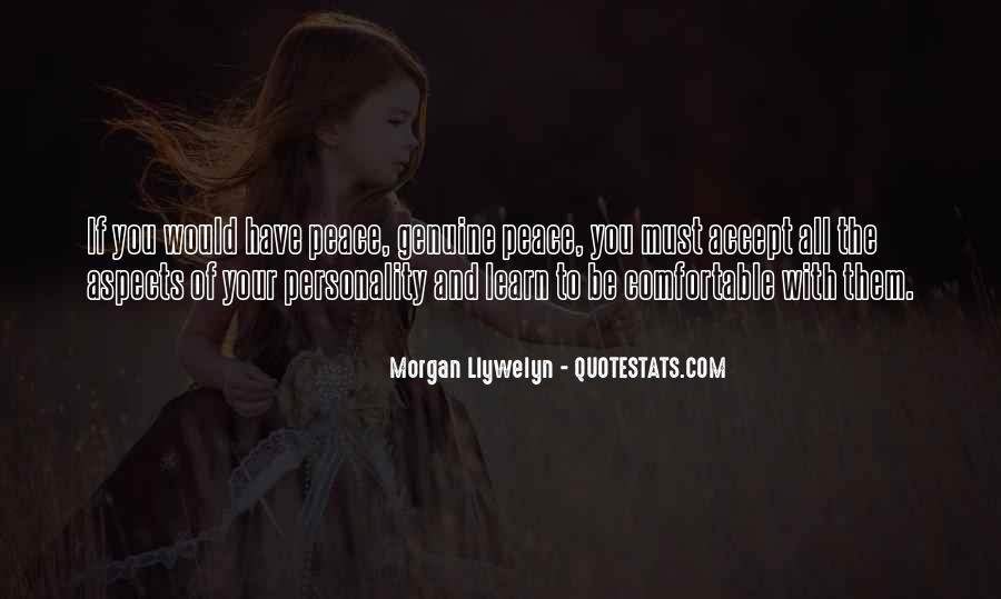 Quotes About Aspects Of Personality #1082413