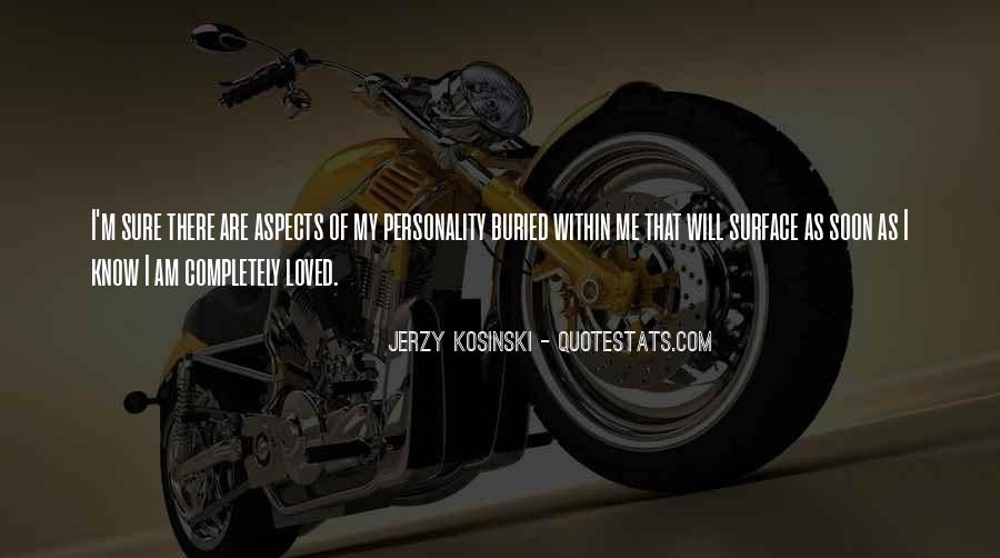 Quotes About Aspects Of Personality #1861625