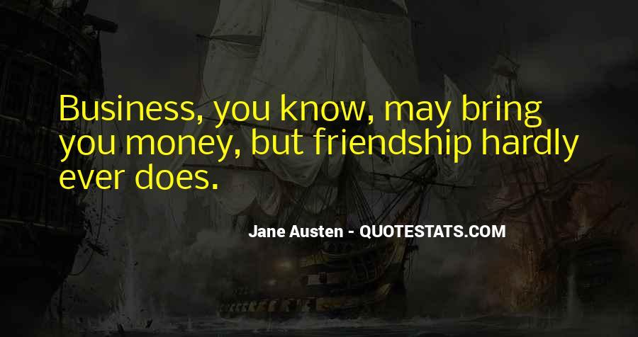 Quotes About Money Vs Friendship #171013